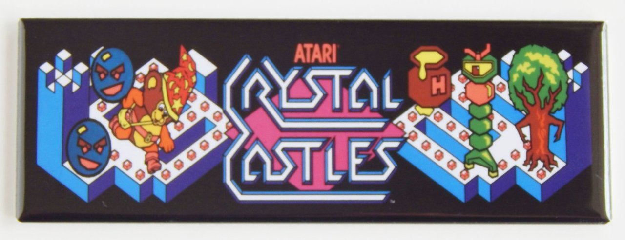 Atari Crystal Castles Fridge