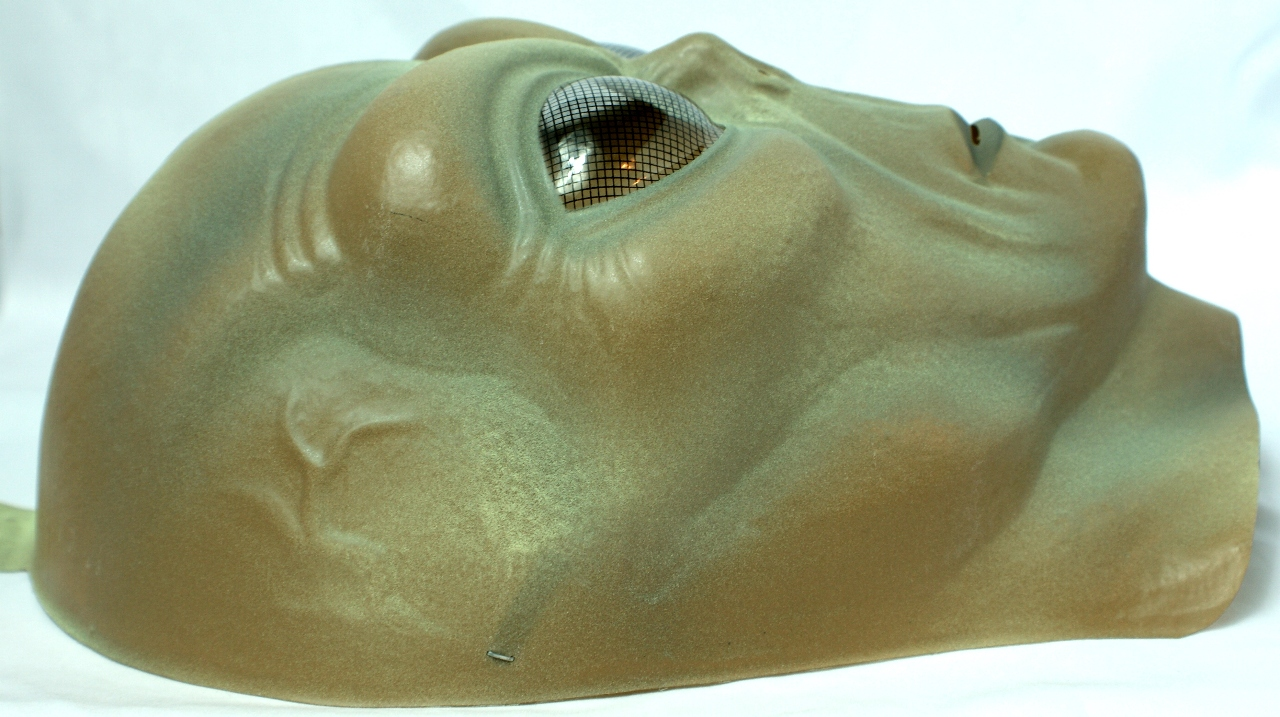 Large Alien Head Halloween Mask SciFi Space Area 51 Roswell Greys ...