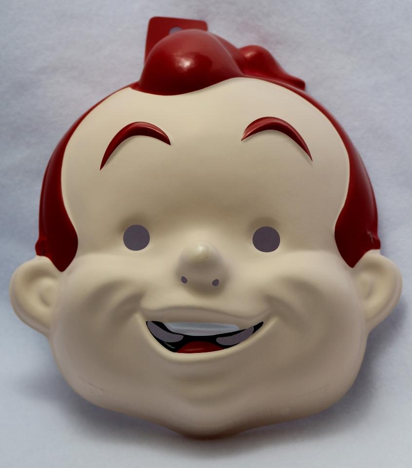Rusty Boy Robot Vtg Halloween Mask Rubies Big Guy Frank Miller ...