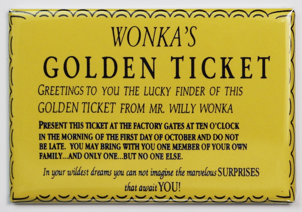 Willy Wonka Golden Ticket Invitation Template were Perfect Ideas To Create Beautiful Invitation Design