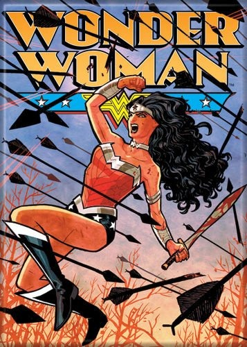 WONDER WOMAN DC FRIDGE MAGNET