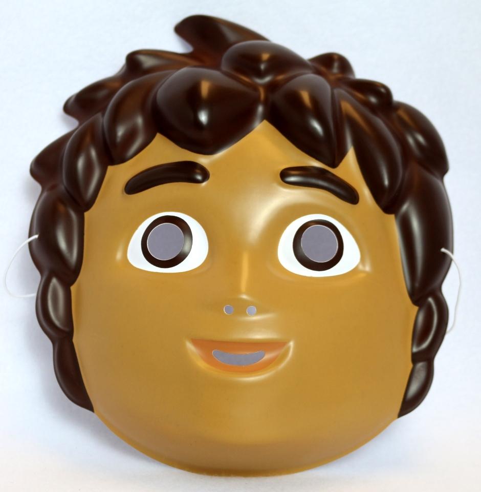 Cartoons Go Diego Go: Go Diego Go! Halloween Mask Nickelodeon Dora The Explorer