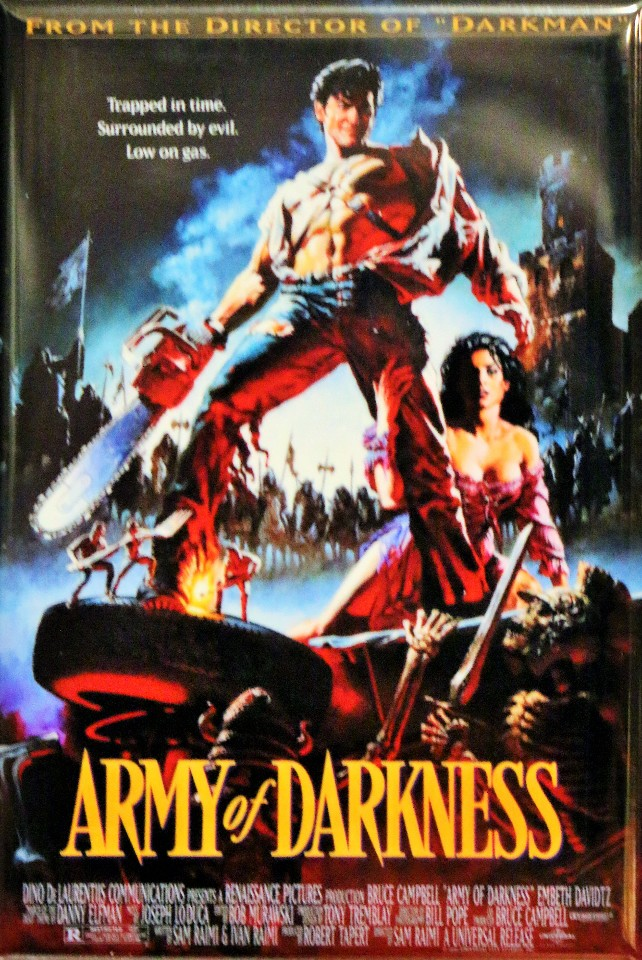 Army of Darkness Movie Poster FRIDGE MAGNET Cult Classic ...