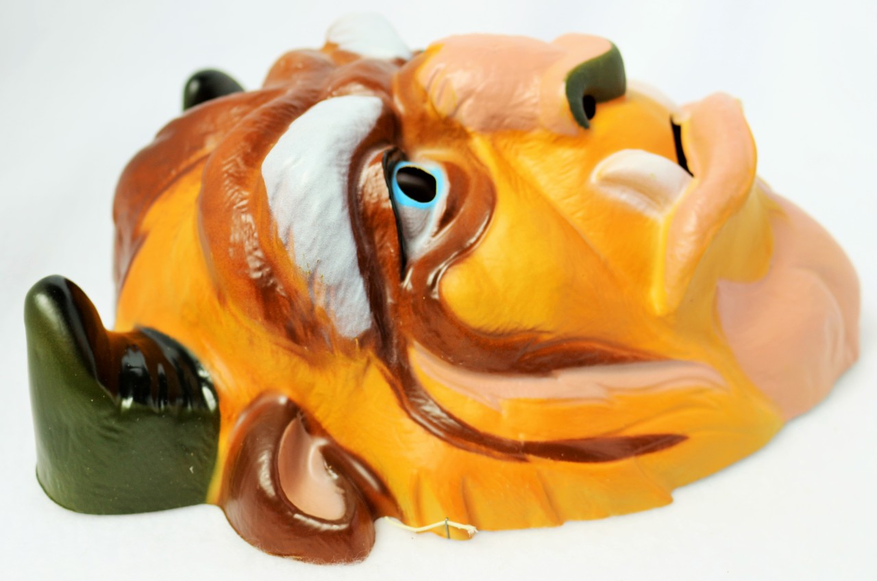 Vintage Walt Disney Beast Mask Beauty And The Beast