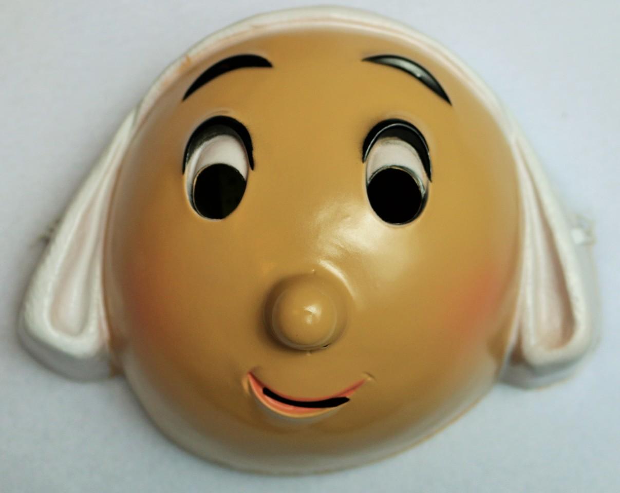 Vintage Becassine Halloween Mask 1980's 80's 1985 Cesar Costume ...