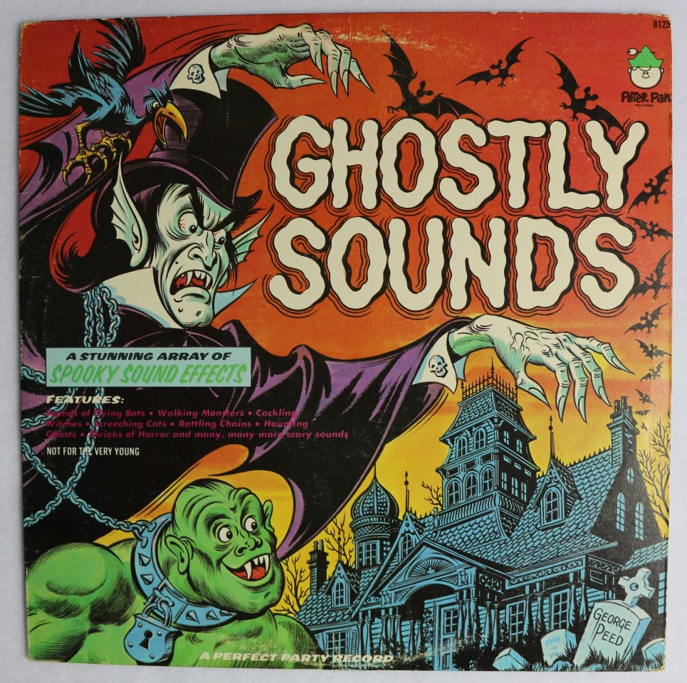 Vintage ghostly sounds halloween music record haunted for Vintage house music