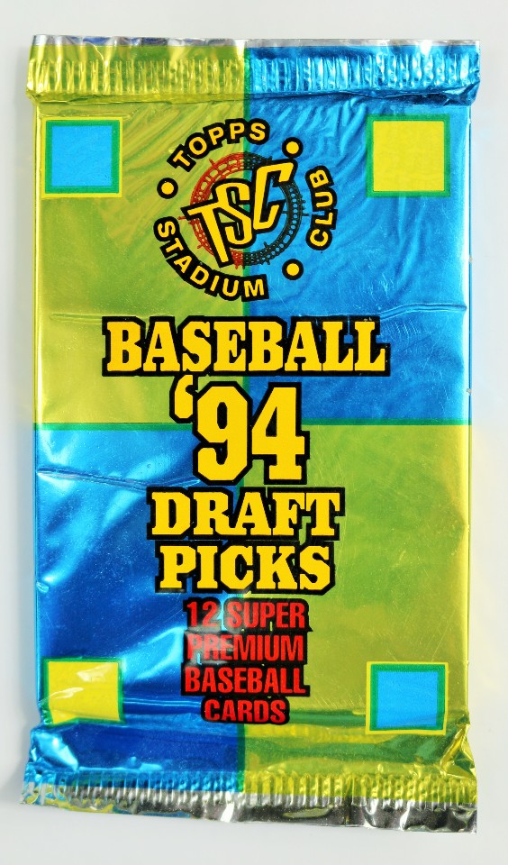 Vintage 1994 Topps Stadium Club Draft Picks Baseball Trading Cards MLB 94