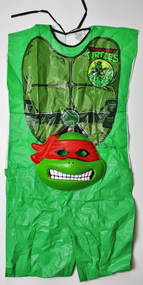 Vintage 1988 Mirage Comics Tmnt Halloween Costume Mask