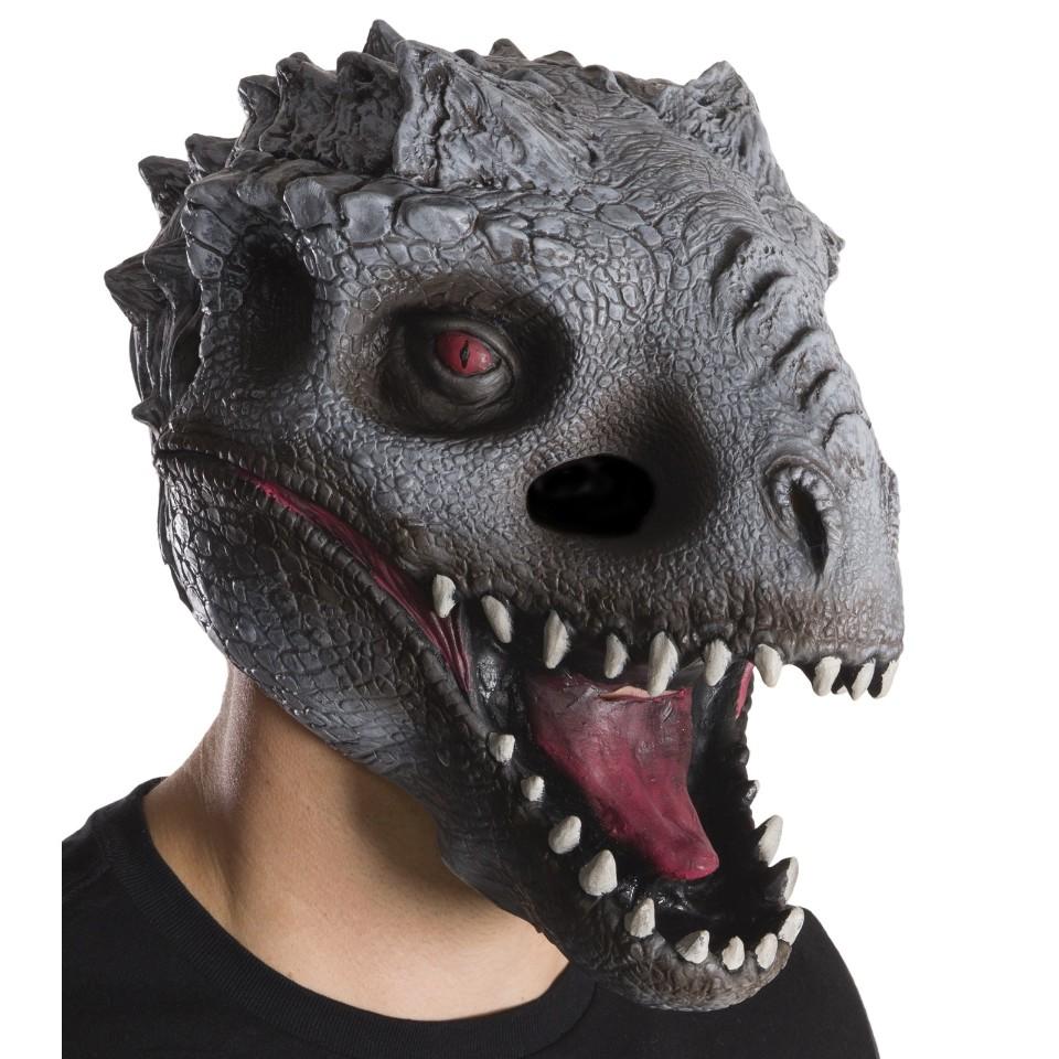 Jurassic World Indominus Rex Dinosaur Halloween Mask T Rex Costume ...