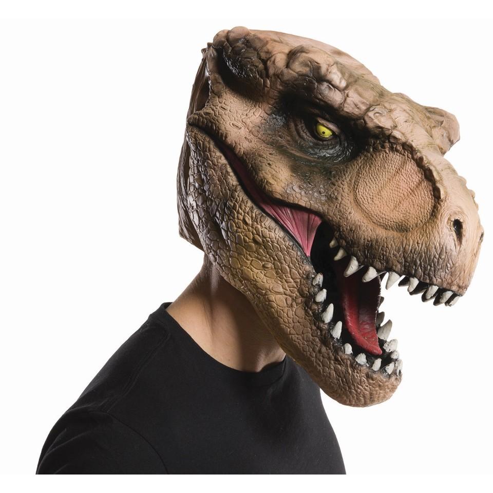 Jurassic World Tyrannosaurus Rex Dinosaur Halloween Mask Costume ...