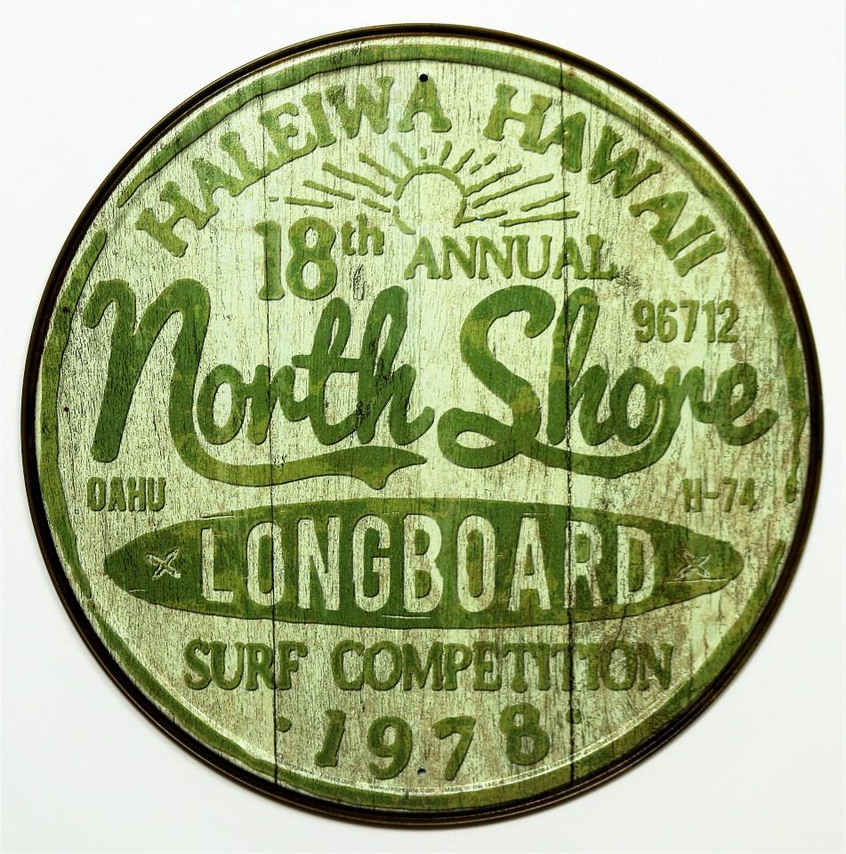 Hawaii License Plate In Room