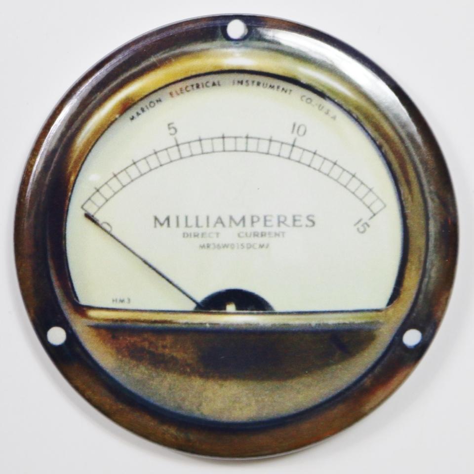 Marion Electric Steampunk Gauge FRIDGE MAGNET Meter Vintage Style 2 ...