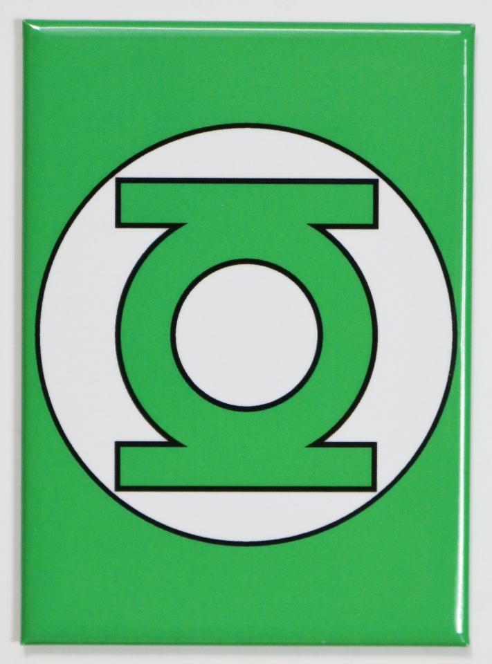 The Green Lantern Logo Fridge Magnet Justice League Dc Comics Comic