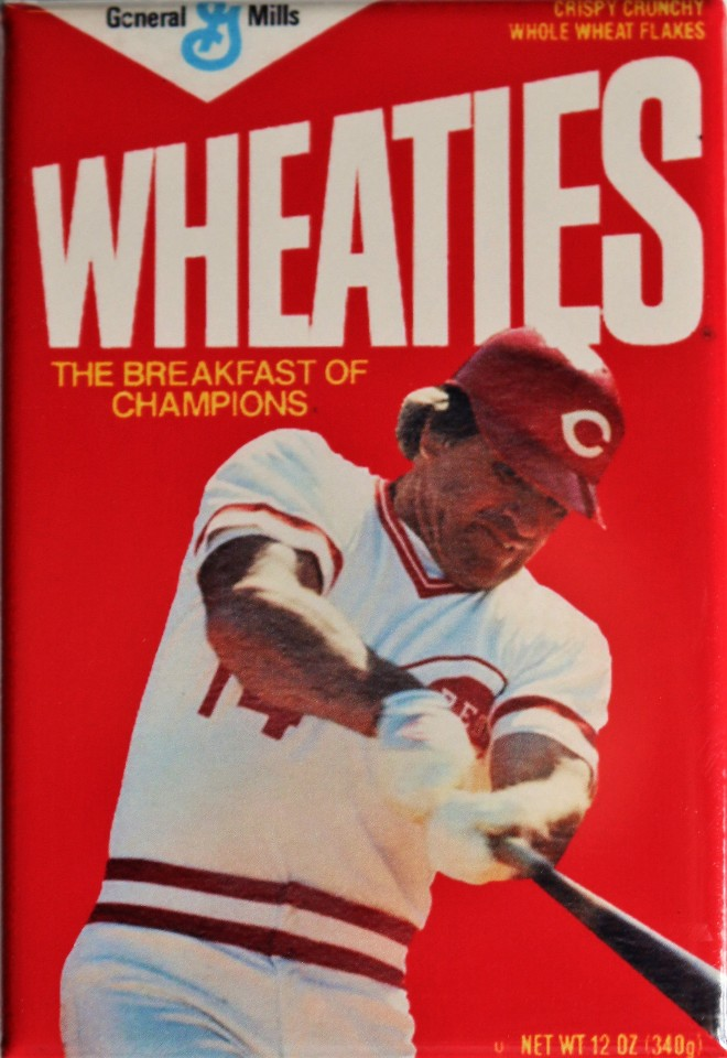 Wheaties Pete Rose Fridge Magnet Cincinnati Reds Baseball