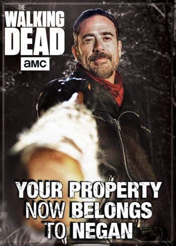The Walking Dead Negan Saviors Fridge Magnet Glenn Rhee
