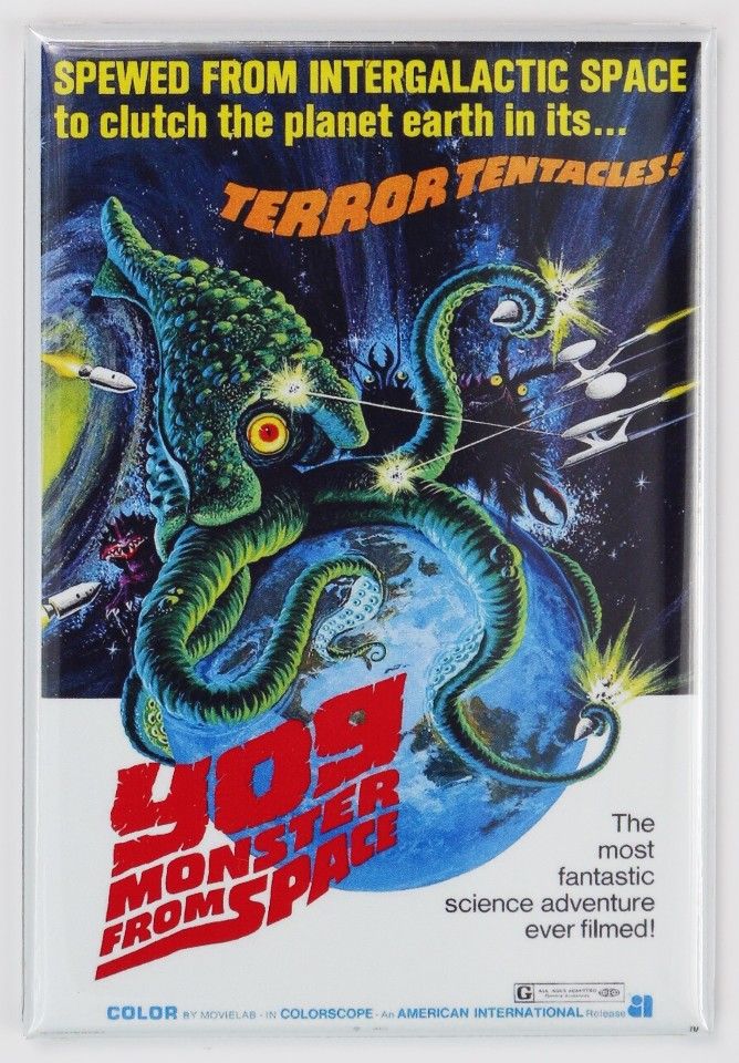 Yog Monster From Space Movie Poster Fridge Magnet 1950s