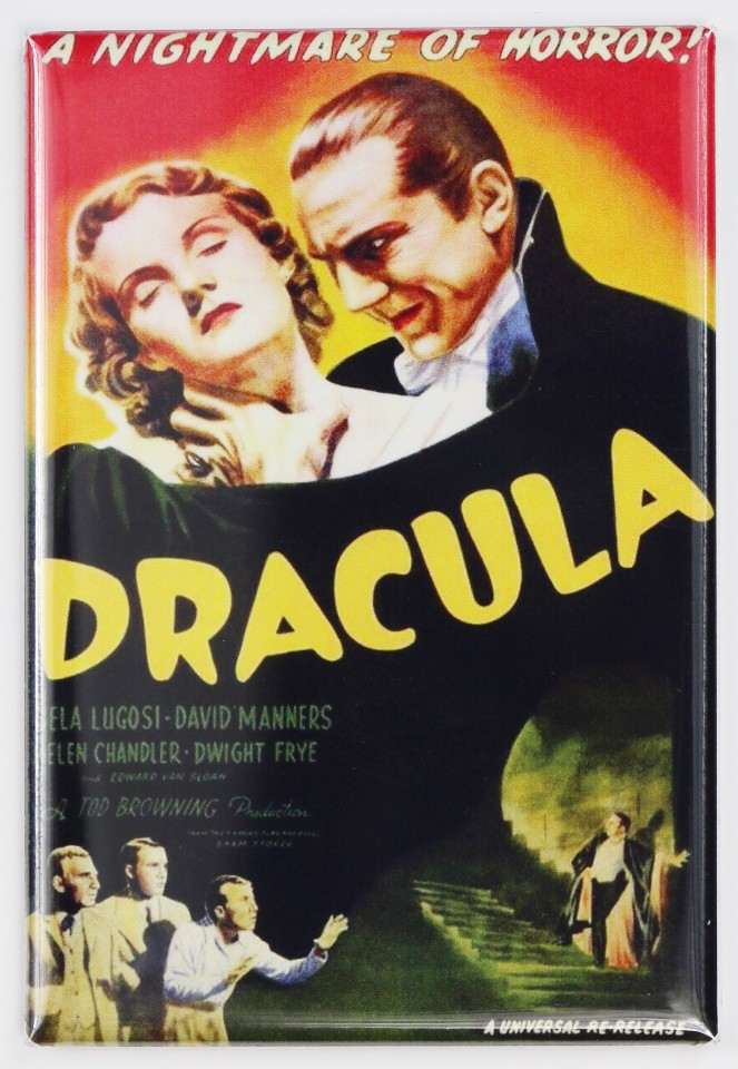 Dracula Movie Poster Fridge Magnet Bela Lugosi