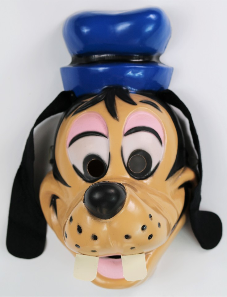 vintage walt disney goofy halloween mask cesar costume mickey mouse - Goofy Halloween Pictures