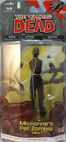 Walking Dead Comic Book Series Michonnes Pet Zombie McFarlane Action Figures
