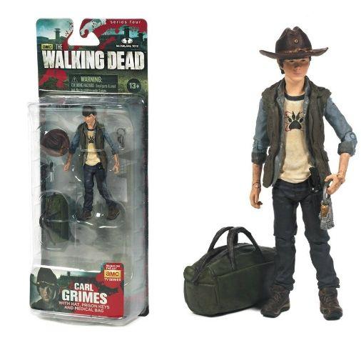 AMC Walking Dead Comic Book Carl Grimes Mask McFarlane Action Figure