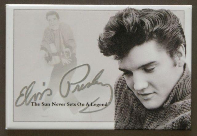 Elvis Presley The King FRIDGE MAGNET Music Movie Icon 1950's Singer Diner E11
