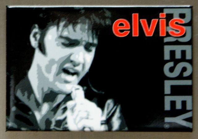 Elvis Presley The King FRIDGE MAGNET Music Movie Icon 1950's Singer Diner E10