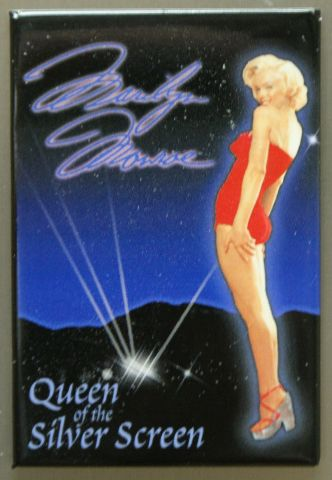 Marilyn Monroe Queen Of The Silver Screen FRIDGE MAGNET Movie Star Pin Up E8