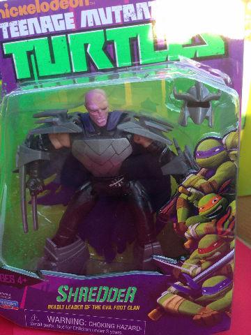 SHREDDER WITH NO MASK TMNT Teenage Mutant Ninja Turtles ...Ninja Turtles Toys Nick