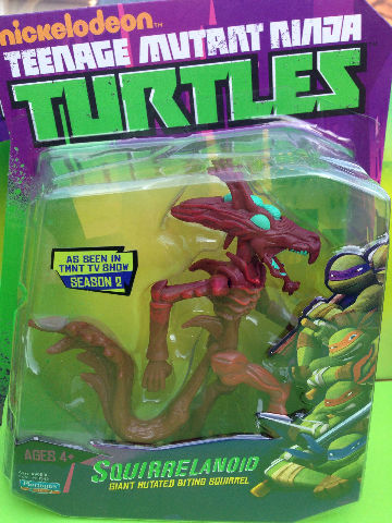 Squirrelanoid TMNT Teenage Mutant Ninja Turtles action Figure nick cartoon toy