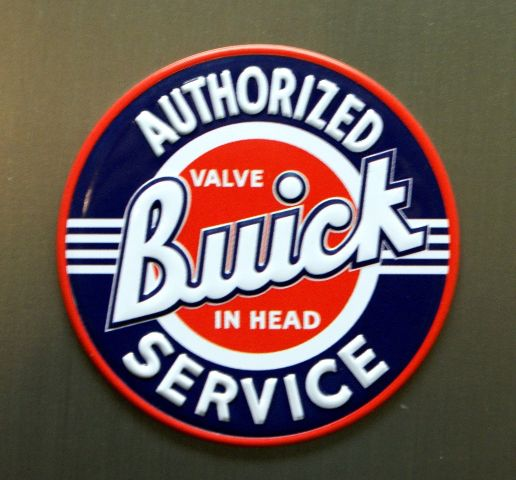 Buick Authorized Service Refrigerator Magnet Acadia Encore Enclave A4