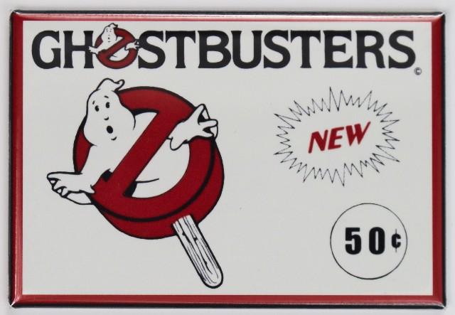 Ghostbusters Ice Cream Refrigerator Fridge Magnet Slimer Popsicle 80s Movie