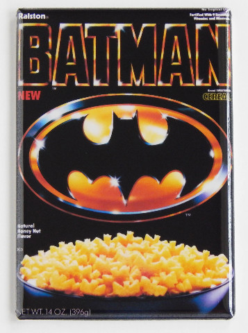 Batman Cereal Refrigerator Fridge Magnet 1989 Batman Movie