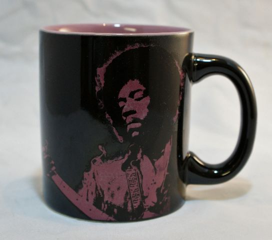 Sd Jimi Hendrix Purple Haze Coffee Mug Oz Classic Rock Guitarist Guitar Office on 1989 Dodge Dakota Parts