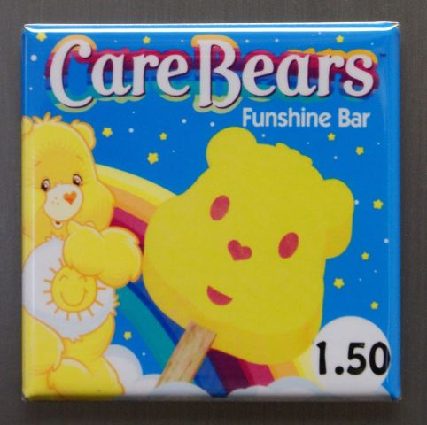 Care Bears Funshine Bar Refrigerator Fridge Magnet