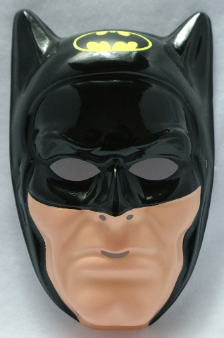 Vintage Dc Comics Batman Ben Cooper Halloween Mask Comic
