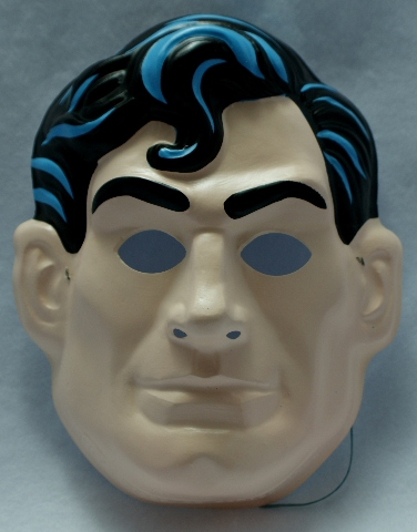 Vintage Dc Comics Superman Clark Kent Halloween Mask Y124
