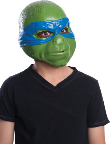 New TMNT Movie Leonardo Halloween Mask Vinyl Teenage Mutant Ninja Turtles Y018