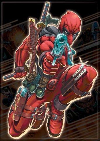 Marvel Comics Deadpool Fridge Magnet Comic Books Book Dead