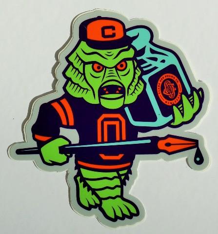 Clark Orr Creature Monster Sticker Original Universal Ricou Mascot