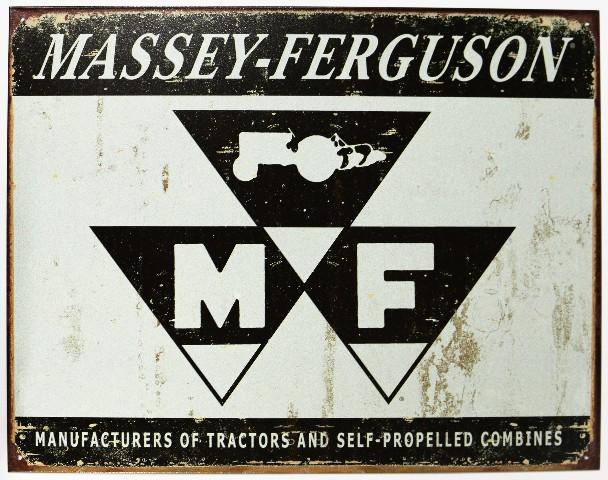 Massey Ferguson Tractors Milwaukee Tin Sign Farming Farm Country Allis Chalmers