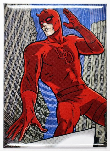 Daredevil Fridge Magnet Comic Book Marvel Comics Stan Lee