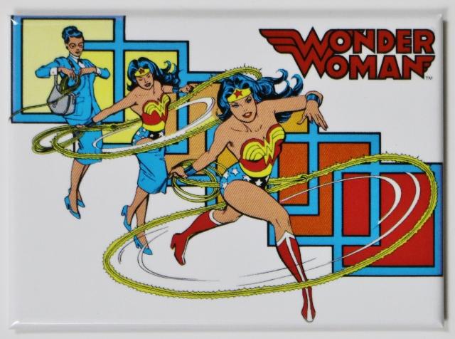 Wonder Woman  FRIDGE MAGNET DC Comics Justice League Comic Book Hero F14