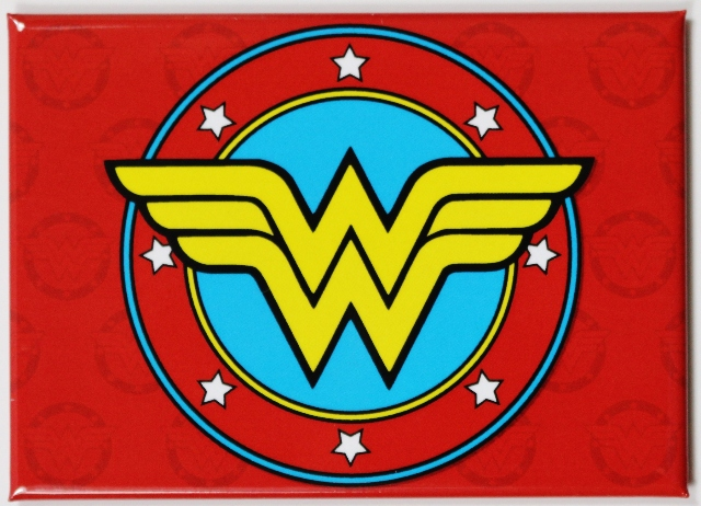 Wonder Woman  Logo FRIDGE MAGNET DC Comics Justice League Comic Book Hero
