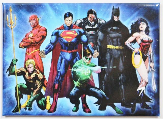 Justice League FRIDGE MAGNET DC Comics Superman Batman Flash Wonder Woman