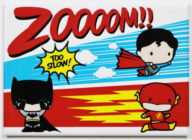 Justice League FRIDGE MAGNET DC Comics Superman Batman Flash Zoom E20