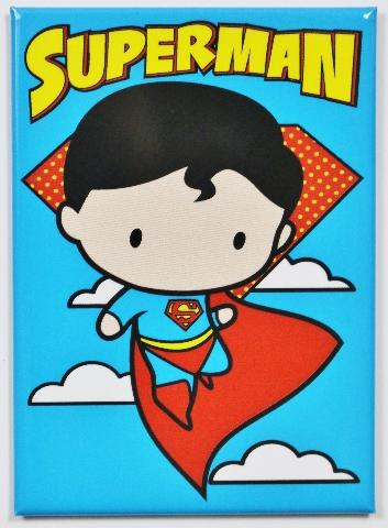 Superman FRIDGE MAGNET DC Comics Justice League Cartoon Meme