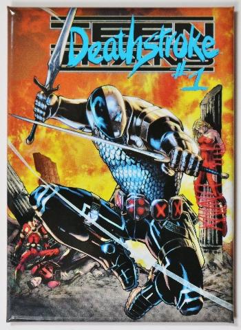 Deathstroke  FRIDGE MAGNET DC Comics Star Arrow