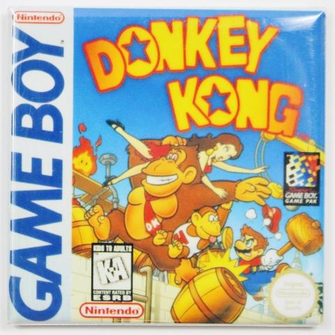 Nintendo Game Boy Donkey Kong  Fridge Magnet Video game Mario Brothers