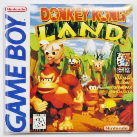 Nintendo Game Boy Donkey Kong Land Fridge Magnet Video game Mario Brothers