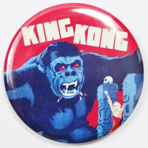 King Kong Movie Poster Fridge Magnet Monster Film Theater